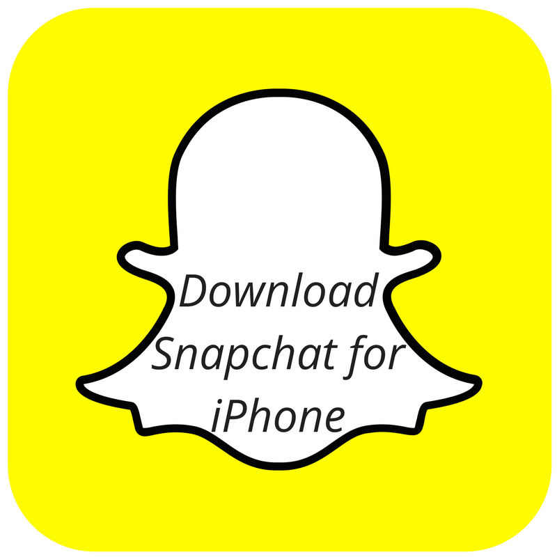 download snapchat for ios and iphone