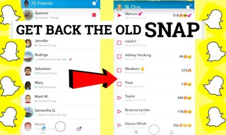 Hate The Latest Update? How To Get The Old SnapChat Design Back